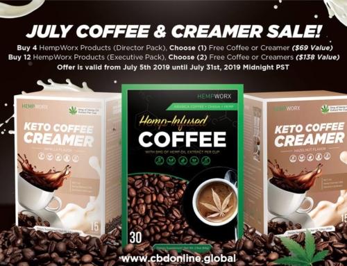 HempWorx Coffee Sale