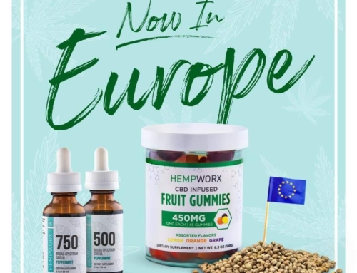 HempWorx UK & Europe UPDATE Jan 2020