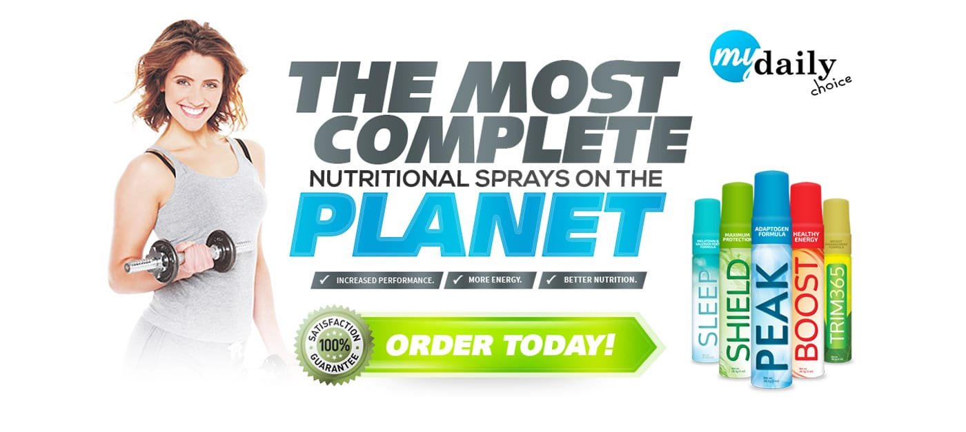HempWorx Ghana, My Daily Choice, Nutritional Sprays