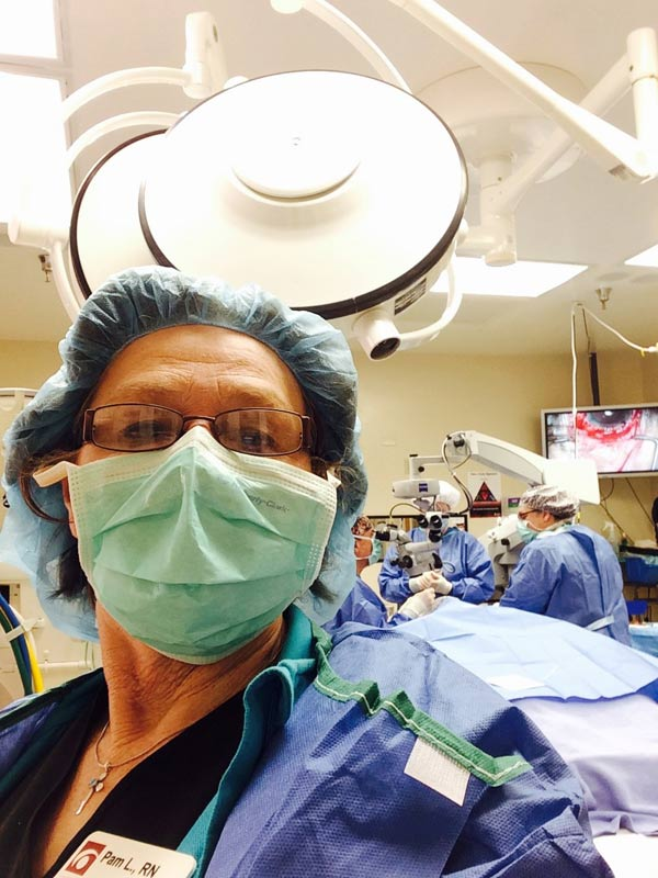 Pam in the OR