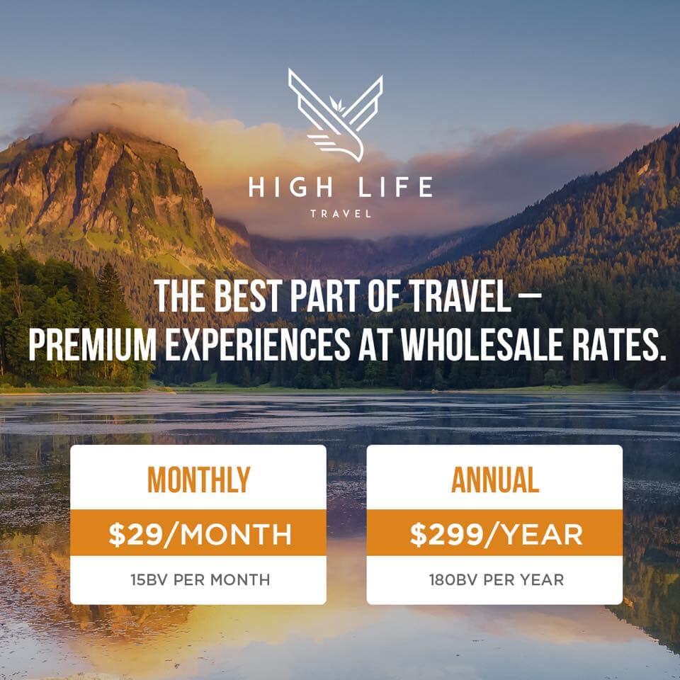 High Life Travel Membership Program