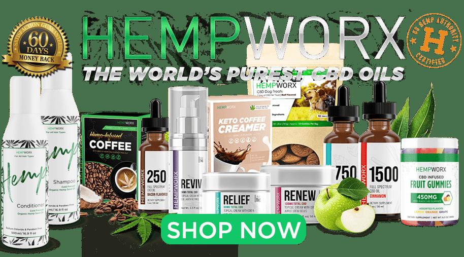 HempWorx CBD Online