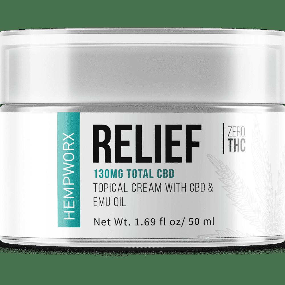 HempWorx Relief 50ml Topical Rub