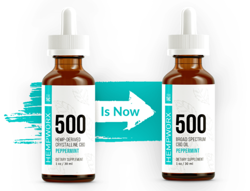 HempWorx Broad Spectrum THC Free CBD Oil – NEW!
