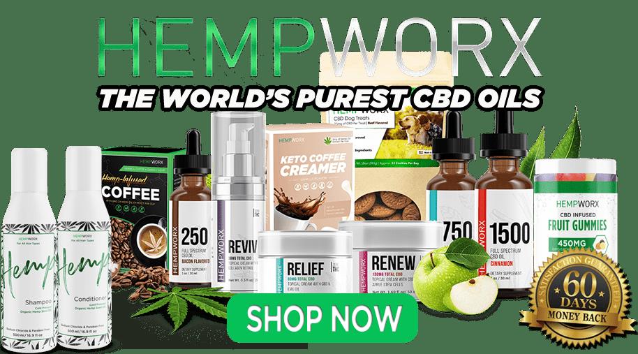 HempWorx Official Products Shop Online CBD